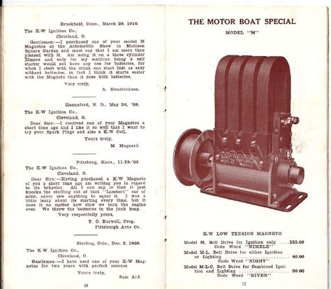1909 K W Electrical Products Catalog