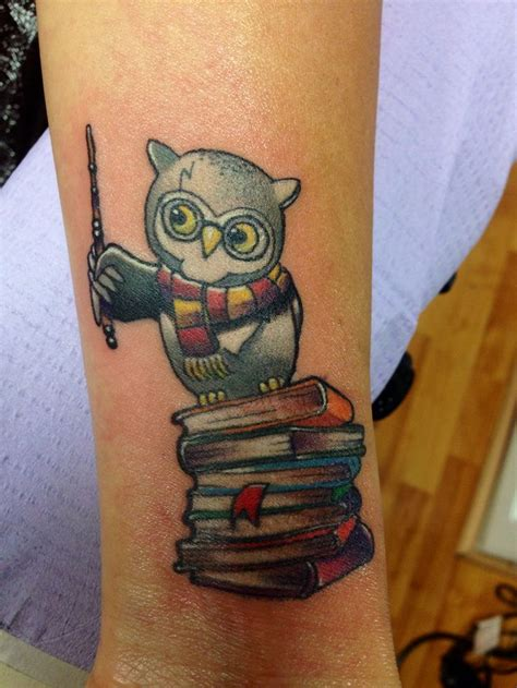 harry potter owl tattoo 20 tatuajes inspirados en harry potter sleeve my