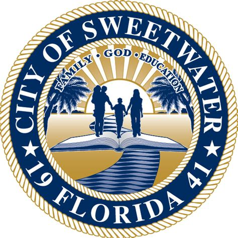 Miamidade Gov Records File Seal Of Sweetwater Miami Dade County Florida Png Wikimedia Commons