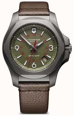 Swiss Army Leather Date Brown victorinox swiss army watches official uk retailer