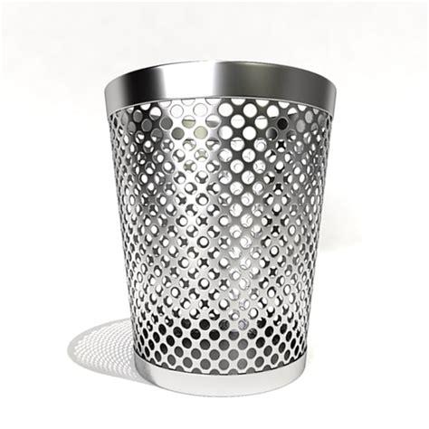 waste paper baslet waste paper basket 3d model