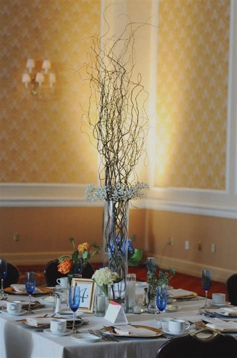 tall twig centerpiece