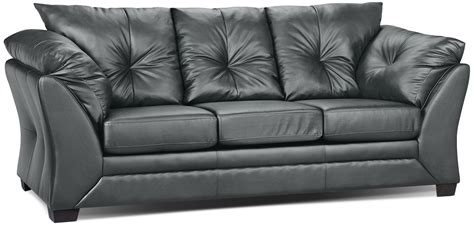 the brick couches max faux leather full size sofa bed grey the brick