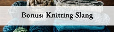 knitting abbreviations yon knitting terms explained allfreeknitting