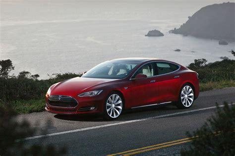 Used Tesla S 2014 Tesla Model S Front Drivers Side Photo 1