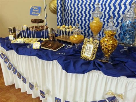 Royal Baby Shower Ideas by Royal Prince Theme Babyshower Table Prince Theme Royal