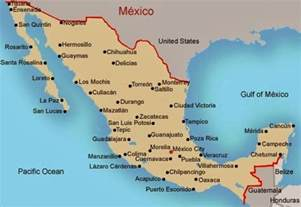 map of eastern us and mexico mexico east coast map