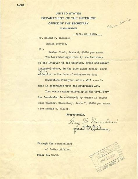 acting appointment letter sle acting appointment letter usmc 28 images acting