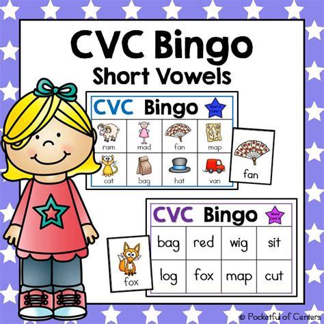 printable vowel games cvc short vowels bingo game short vowels bingo games