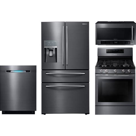 wolf kitchen appliance packages samsung 4 piece kitchen package with nx58j7750sg gas range