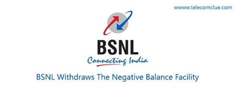 Bsnl Address Finder Bsnl Withdraws The Negative Balance Facility