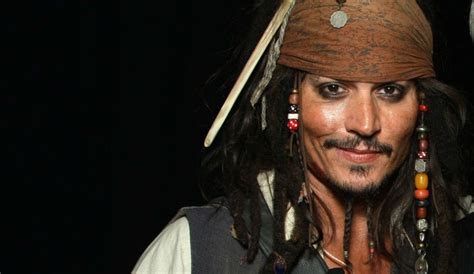 johnny depp s hottest face jack sparrow of pirates of