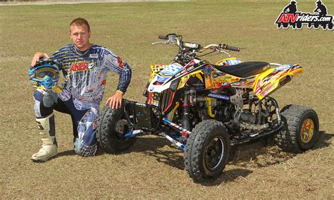 atv motocross ronnie higgerson pro atv motocross racer wallpaper