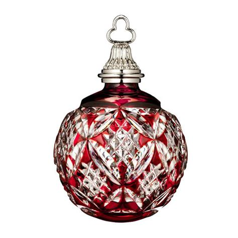 Exceptional Engravable Ornaments Christmas #1: 2015-waterford-ruby-cased-ball-600x600.jpg
