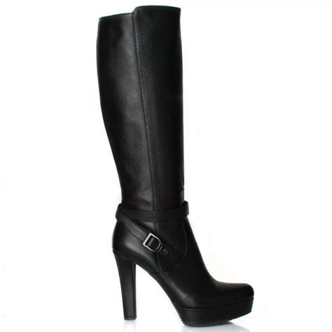 womens knee high boots daniel black baggio women s knee high boot