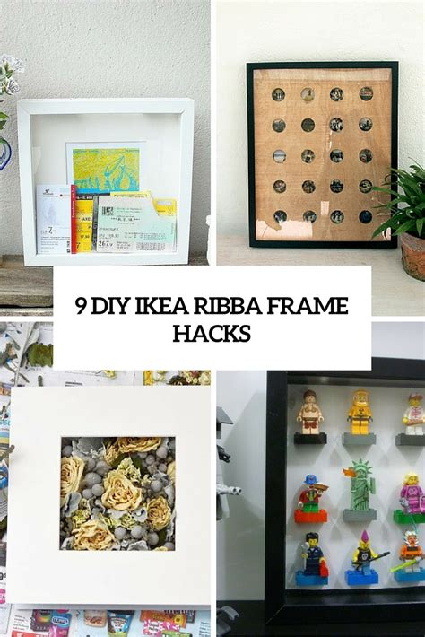 what is diy 9 diy ikea ribba frame hacks that you should try shelterness