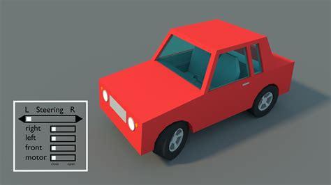 3d illustration his car floating model rigged car blendernation