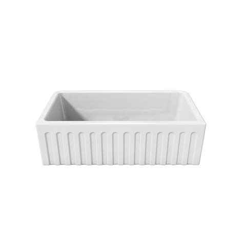 Home Depot Farmhouse Sink by Latoscana Farmhouse Apron Front Fireclay 33 In Single