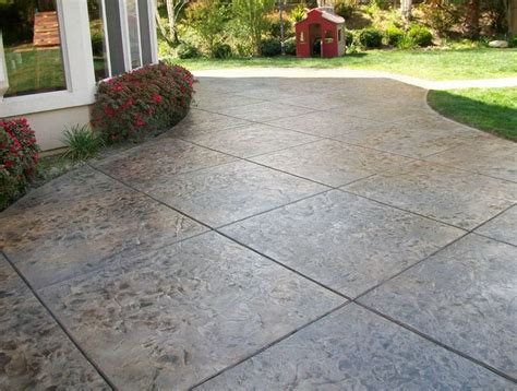 patio vs terrace best 25 sted concrete patio cost ideas on