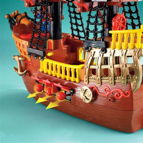 toy boat for 2 year old fisher price imaginext adventures pirate ship