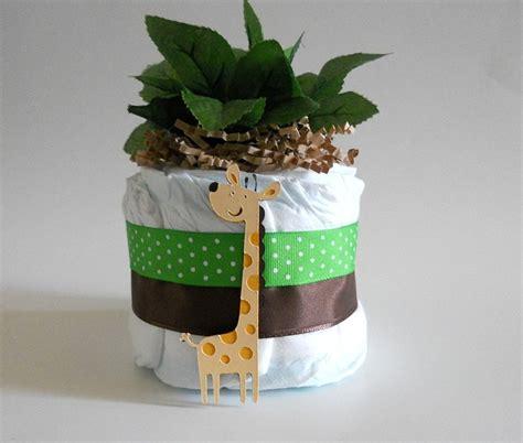 1 jungle theme mini diaper cake baby shower by jungle themed baby shower diaper cake micro mini table