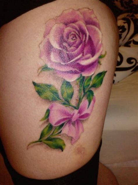 rose tattoo with ribbon 25 best ideas about pink ribbon tattoos on
