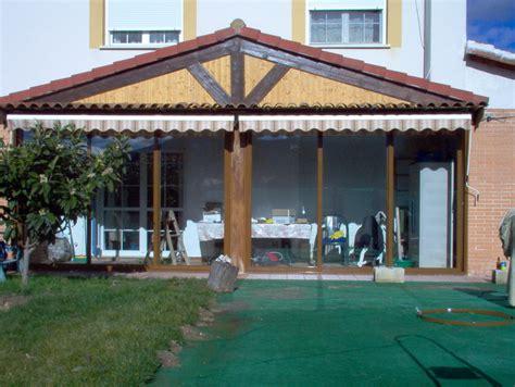 porches cerrados de aluminio porches de aluminio y madera aluminios no 225 in gar 233 s