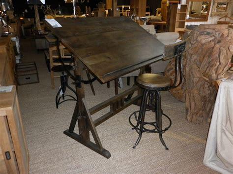 table a dessin industriel industriel la maison du teck meuble et d 233 co en teck