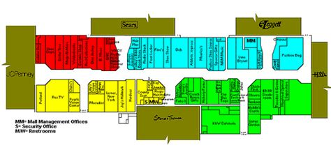 layout of northeast mall mercer mall directory bluefield wv circa 1994 flickr