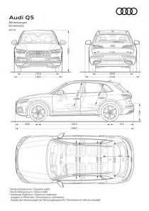 Audi Q5 Interior Dimensions Nuova Audi Q5 2017 Dimensioni Bagagliaio Peso Misure