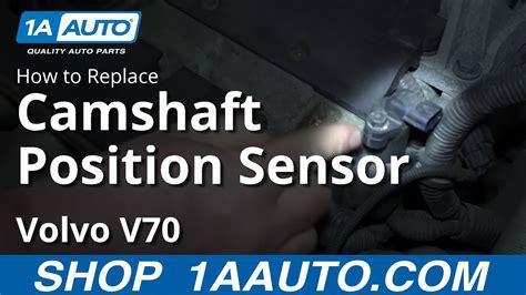 replace camshaft position sensor   volvo  youtube