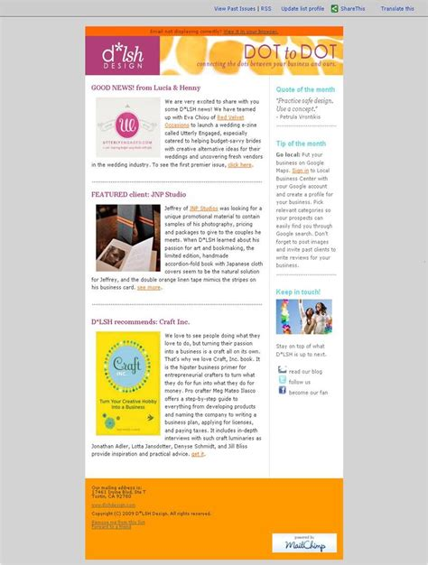 layout newsletter mail improve your business e newsletter business and mail