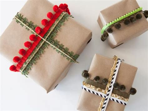 how to wrap a gift with ribbon how to wrap a gift using ribbons and trim how tos diy