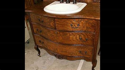 antique dresser bathroom vanity