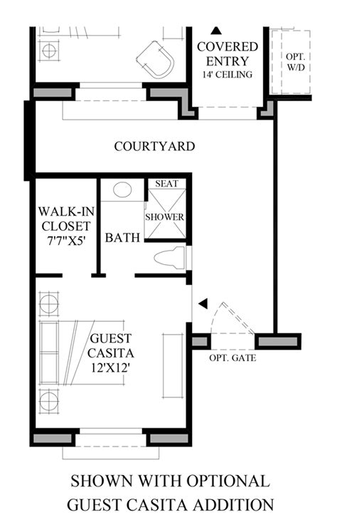 casita floor plans az windgate ranch scottsdale ocotillo collection the moda
