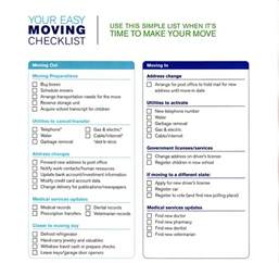 moving house to do list template moving checklist troy