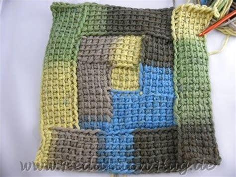 10 Maschen Decke Häkeln by Tunesisch H 228 Keln Spiral Karos