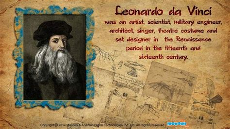 leonardo da vinci brief biography 48 best images about short biographies for kids on