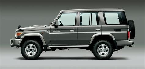 original land cruiser toyota re makes original land cruiser 70 for one year in