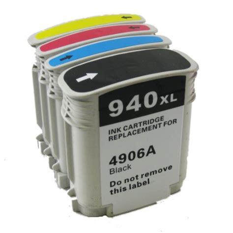 Hp 940xl Officejet Ink Cartridge C4907aa Cyan hp 940xl high yield compatible new inkjet cartridge each color 11 99 inmax computer 416