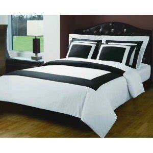 twin size white comforter com 4pc black with white twin size single bed