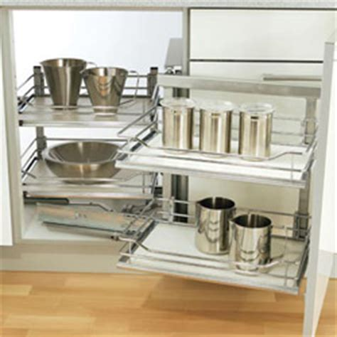 Kitchen Cabinet Corner Solutions video to enhance that dream kitchen shows a magic
