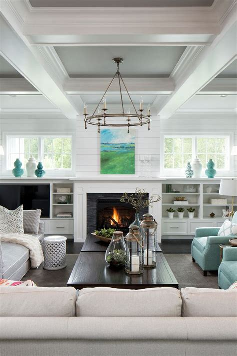 ceilings  smooth  coffered ceiling white