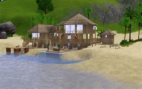 sims 3 beach house mod the sims tropical beach house