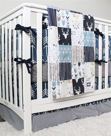 Arrow Crib Bedding Woodlands And Arrow Baby Boy Bedding Woodland Nursery Bedding Set