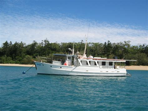 what charter boat fishing charters mackay qld timber bridgedeck cruiser power boats boats online for