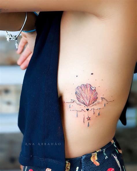 seashell tattoo meaning best 25 seashell tattoos ideas on shell