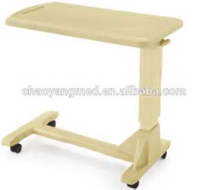 hospital bed table with drawer hospital bed table