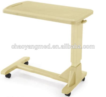 overbed table with drawer hospital bed table with drawer hospital bed table