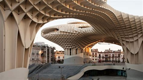 wood architecture metropol parasol the world s largest wooden structure